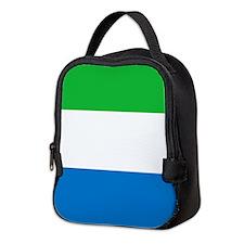 Flag of Sierre Leone Neoprene Lunch Bag