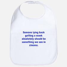 Somone lying back getting a wank absolutely should
