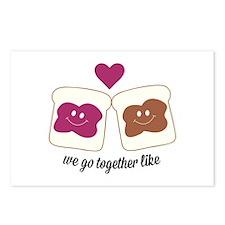 We Go Together Postcards (Package of 8)