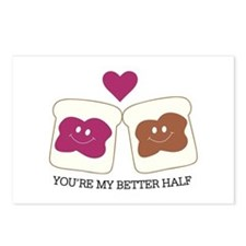 You're My Better Half Postcards (Package of 8)