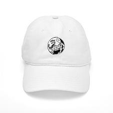 Yin Yang Shotokan Tiger Baseball Baseball Cap