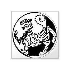 Yin Yang Shotokan Tiger Sticker