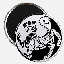 Yin Yang Shotokan Tiger Magnets