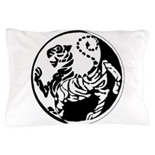 Yin Yang Shotokan Tiger Pillow Case