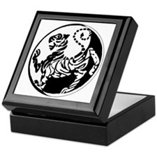 Yin Yang Shotokan Tiger Keepsake Box