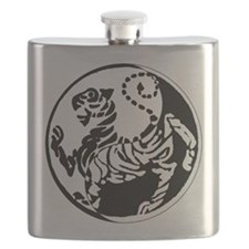 Yin Yang Shotokan Tiger Flask