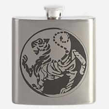 Yin Yang Shotokan Tiger Flask