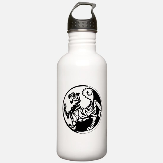 Yin Yang Shotokan Tiger Water Bottle