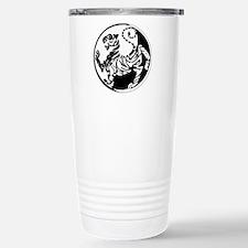 Yin Yang Shotokan Tiger Travel Mug
