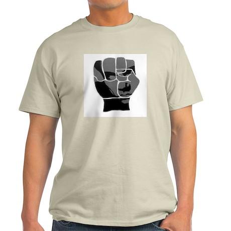 Black Power Fist Light T-Shirt