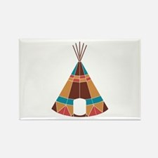 Indian Teepee Magnets