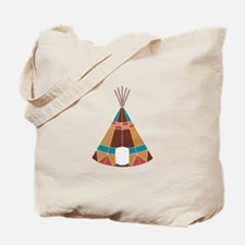 Indian Teepee Tote Bag