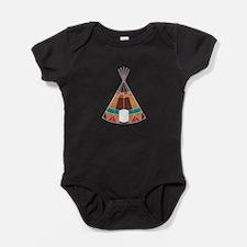 Indian Teepee Baby Bodysuit
