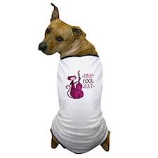One Cool Cat Dog T-Shirt