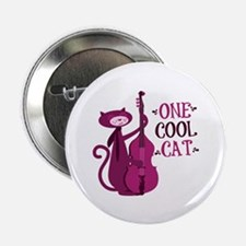 "One Cool Cat 2.25"" Button (10 pack)"