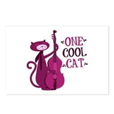 One Cool Cat Postcards (Package of 8)