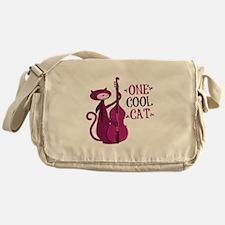 One Cool Cat Messenger Bag