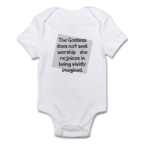 Goddess vivid imagination Infant Bodysuit