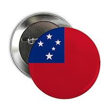 "Samoa Flag 2.25"" Button"