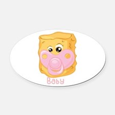 Tater Tot Baby Oval Car Magnet