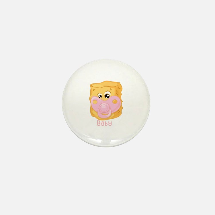 Tater Tot Baby Mini Button