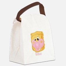 Tater Tot Baby Canvas Lunch Bag