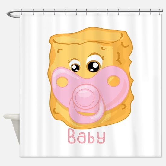 Tater Tot Baby Shower Curtain