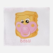 Tater Tot Baby Throw Blanket