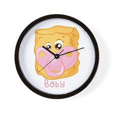 Tater Tot Baby Wall Clock