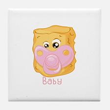 Tater Tot Baby Tile Coaster