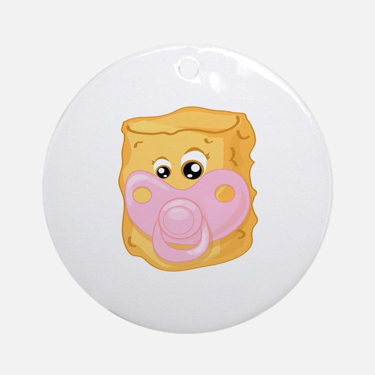 Baby Tater Tot Ornament (Round)