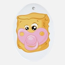 Baby Tater Tot Ornament (Oval)