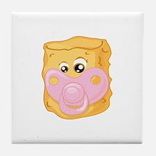 Baby Tater Tot Tile Coaster