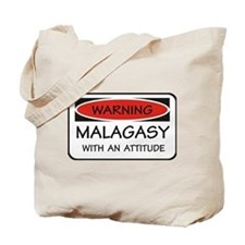 Attitude Malagasy Tote Bag