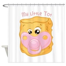 My Little Tot Shower Curtain