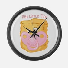 My Little Tot Large Wall Clock