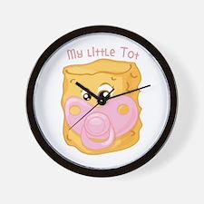 My Little Tot Wall Clock