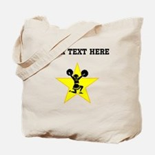 Cheerleader Star (Custom) Tote Bag