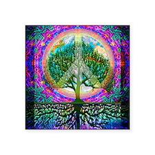 Tree of Life World Peace Sticker