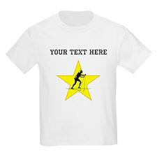 Biathlete Silhouette Star (Custom) T-Shirt