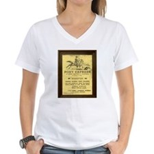 Pony Express Vintage Poster with frame T-Shirt