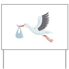 Stork The Delivery Yard Sign