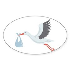 Stork The Delivery Decal
