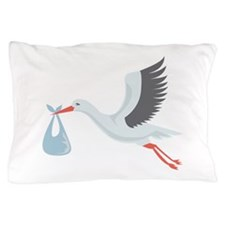 Stork The Delivery Pillow Case