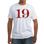 Passionate 19 Fitted T-Shirt