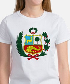Peru Coat of Arms Women's T-Shirt