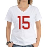 Virgin 15 Women's V-Neck T-Shirt