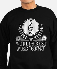 Worlds Best Music Teacher Sweatshirt