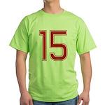 Virgin 15 Green T-Shirt