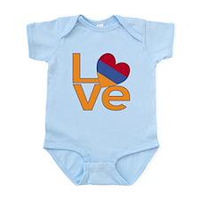 Armenian LOVE Body Suit